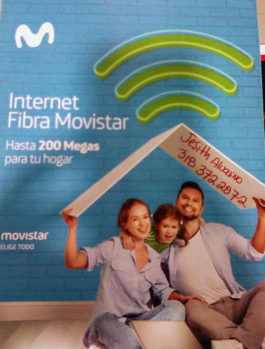 Internet Movistar desde 30 Megas