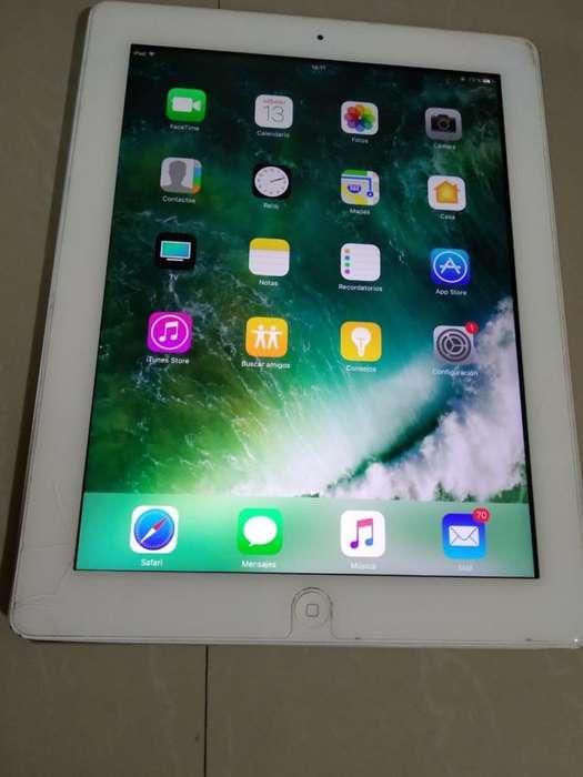 Vendo iPad 4 de 16gb Libre con Detalle