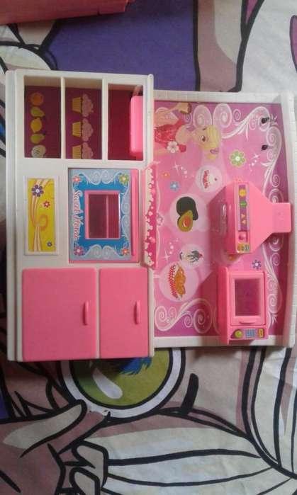 Cocina para muñecas Barbie