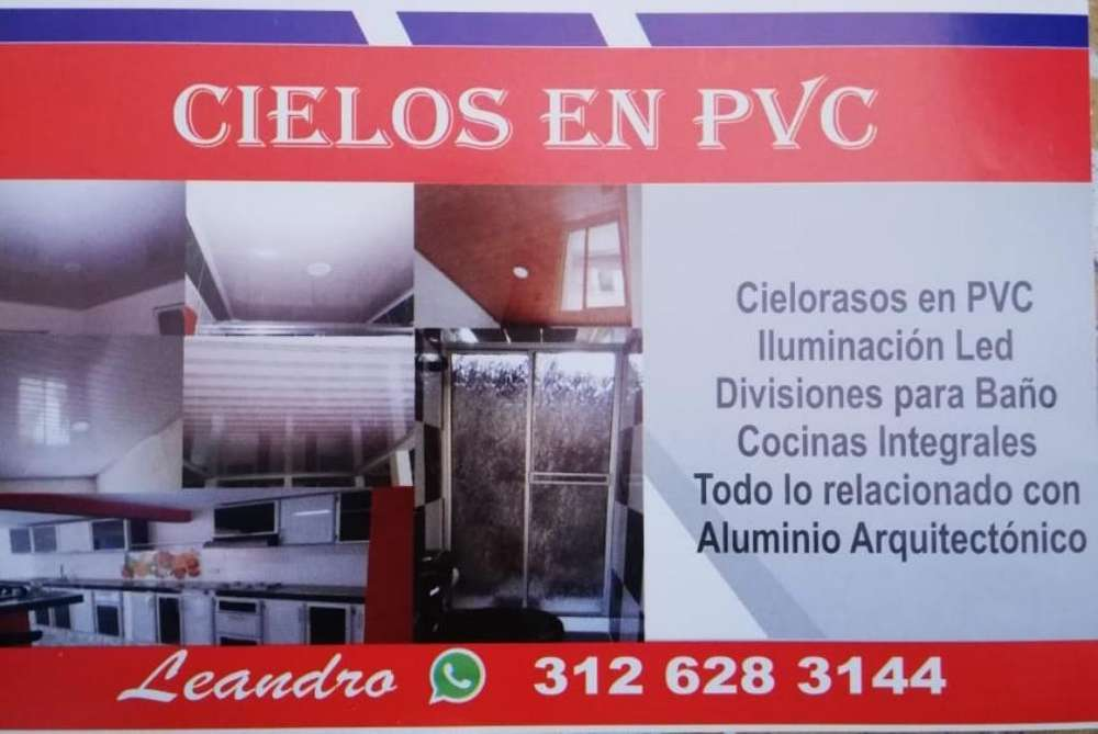 Cielorasos en Pvc