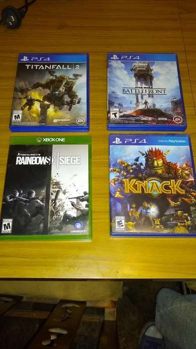 Venta O Canje Juegos Ps4 Y Uno de Xbox