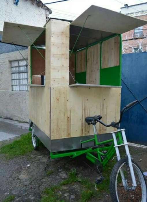 Carrito de Comidas, Food Truck, Triciclo