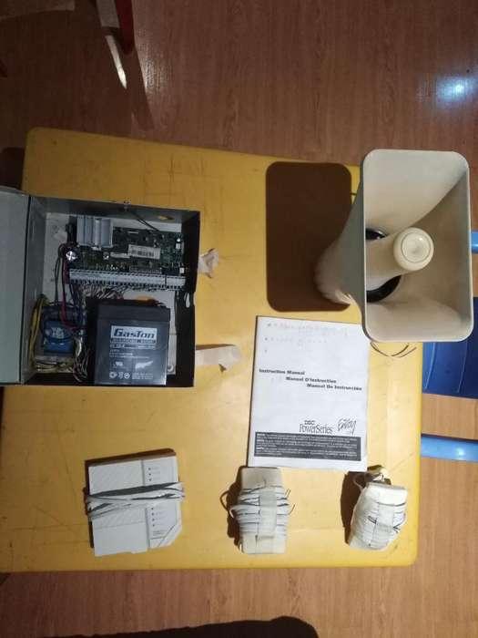 Kit Sistema de Seguridad Dsc Dos Sensore