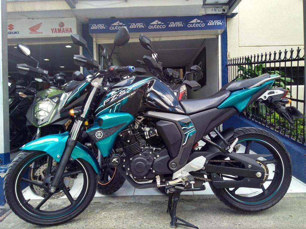 Yamaha fz 2.0 modelo 2017 al día Fácil y rápida financiación!