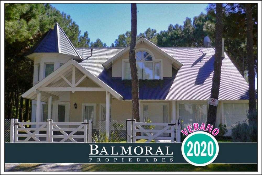 Ref: 8022 - Casa en alquiler - Pinamar, Zona Norte Tennis Ranch