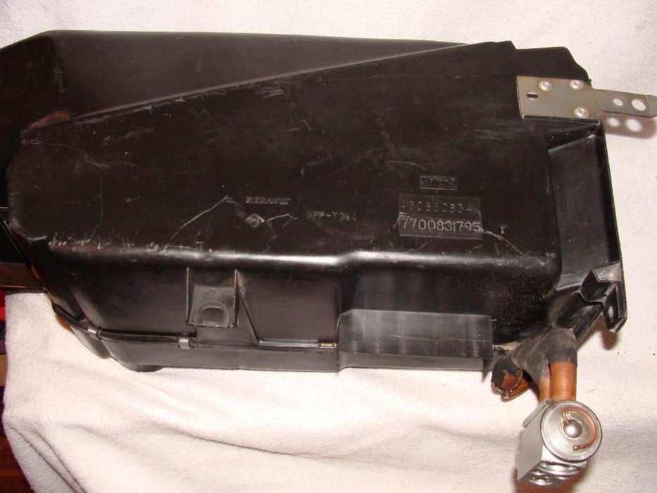 Gabinete Carcasa habitaculo radiador aire acondicionado Renault 19 Diesel