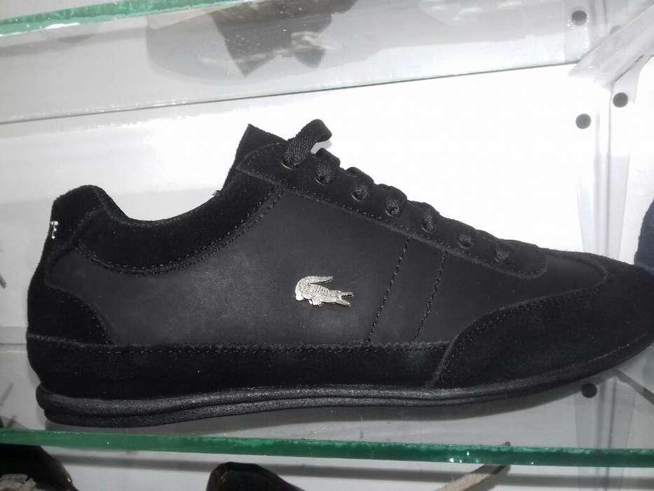 Zapatos Lacoste en Cuero