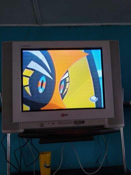 Tv Lg Flatron de 21 Convencional