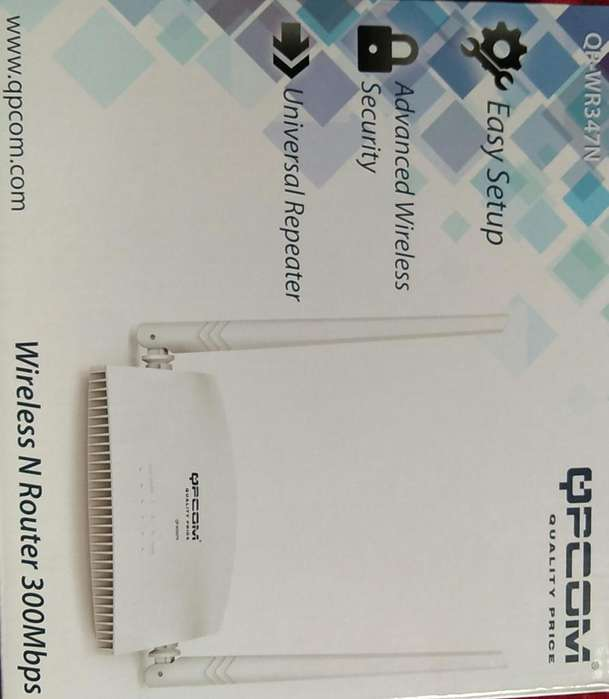 Wireless N Router 300Mbps