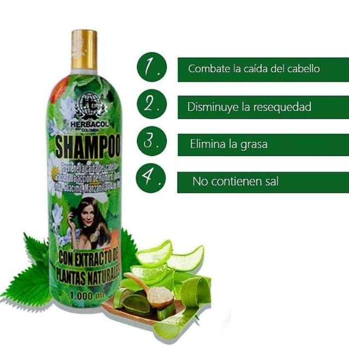 Shampoo Anticaida Herbacol Litro