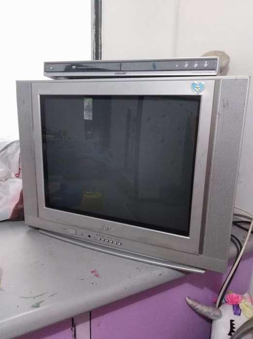Vendo Tv de 21 Pulgadas Lg Y Dvd