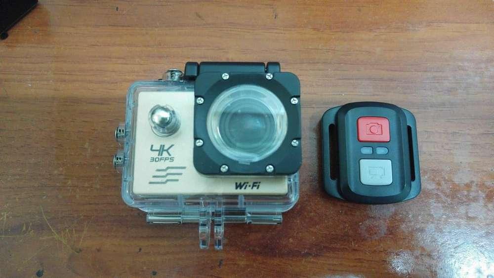 Cámara Acción Sports Cam 2,7K con control y Zoom. camaras acuáticas en Colombia