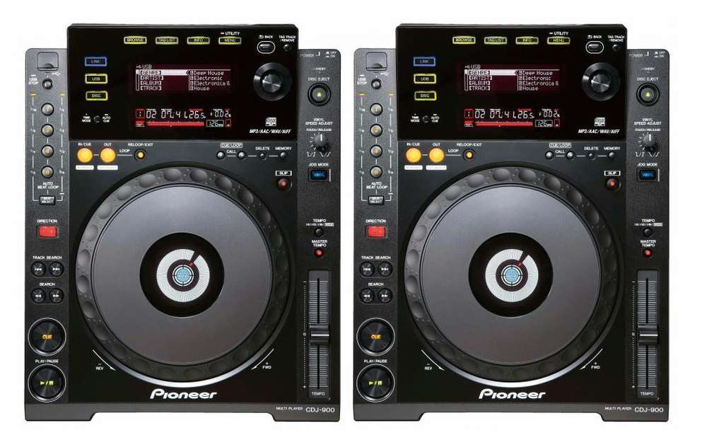 2 CDJ 900 PIONEER