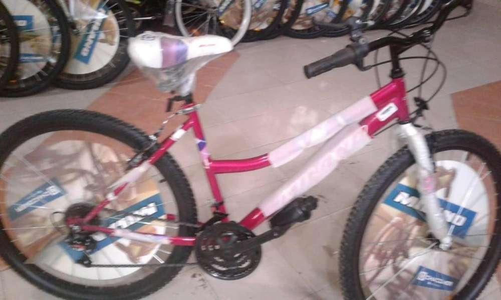 Bicicletas Dama Nuevas Rodado 26