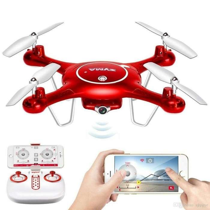 Dron Drone Syma X5uw Fpv Wifi Nuevo