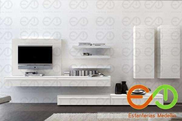 centros de entetenimiento muebles de television personalizados medellin colombia