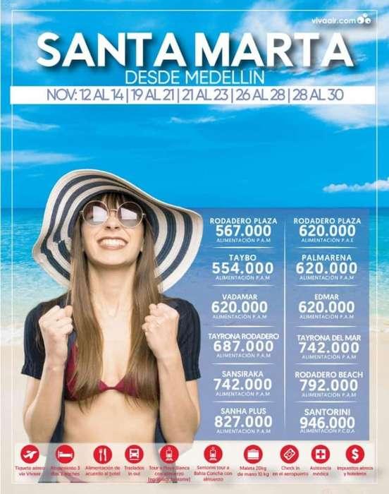 Santa Marta en Noviembre