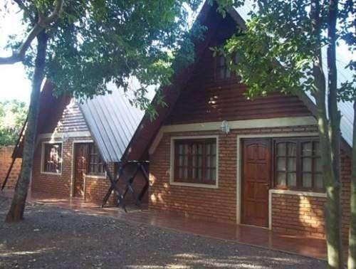 dx86 - Cabaña para 2 a 6 personas con pileta en Puerto Iguazú