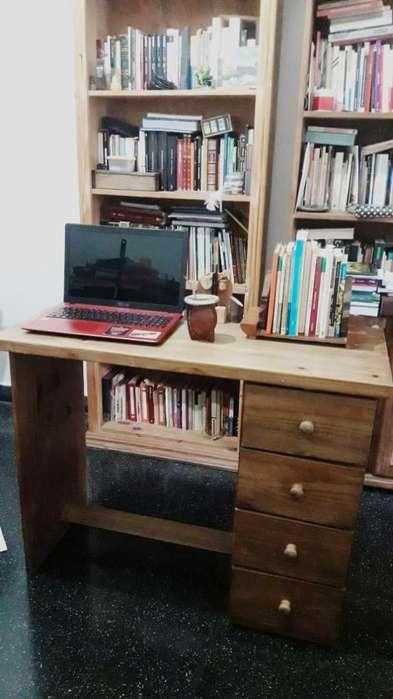 <strong>escritorio</strong> DE MADERA PINO - COMO NUEVO