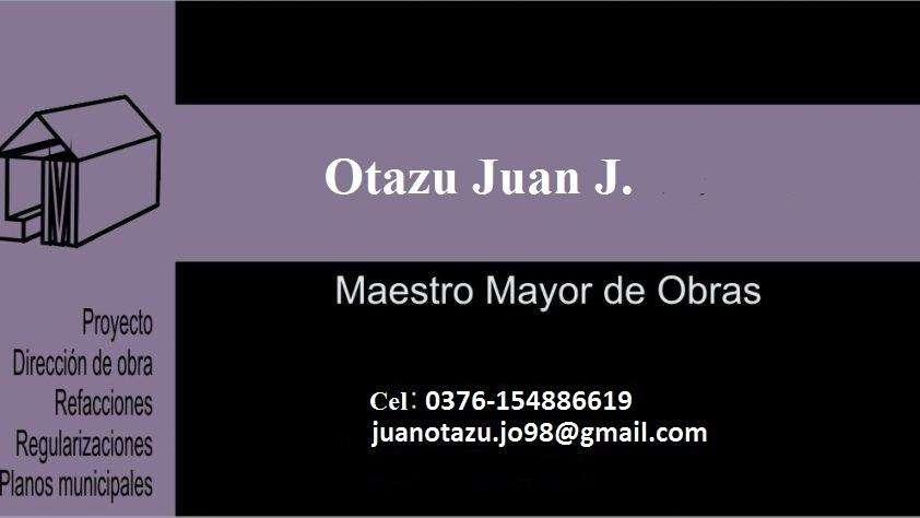 MAESTRO MAYOR DE OBRAS MATRICULADO.