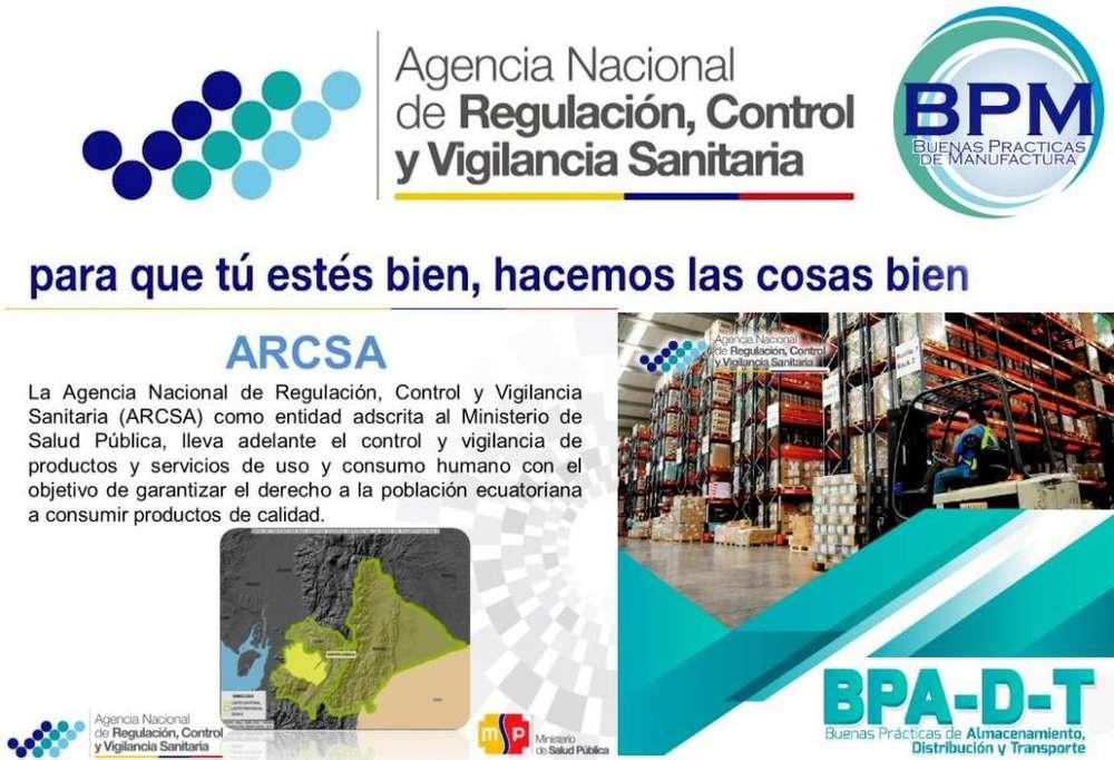 ARCSA: Q.F Ofrece Asesoría Profesional BPM, BPA, NSO, Representación de Farmacias