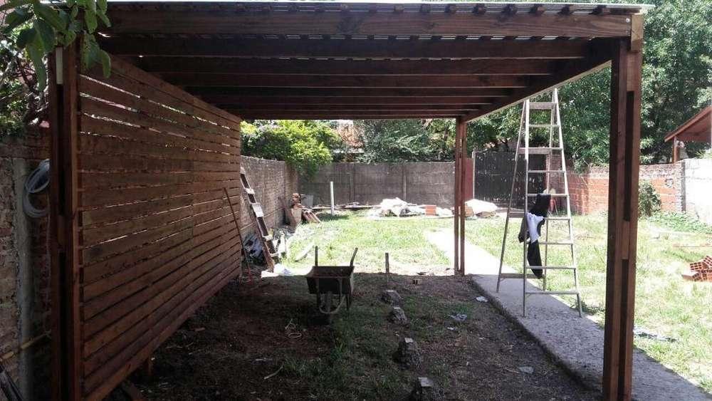 techos en madera para jardin techos para autos