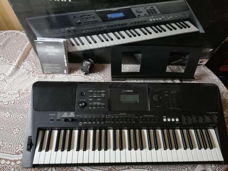 VENDO DE OPORTUNIDAD TECLADO PIANO YAMAHA PSRE- 453