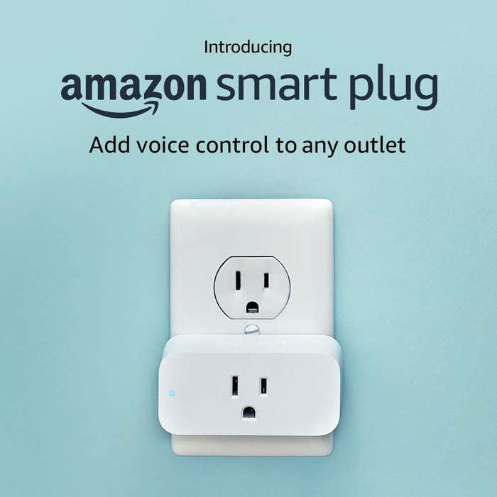 Amazon Smart Plug Compatible Con Alexa Echo