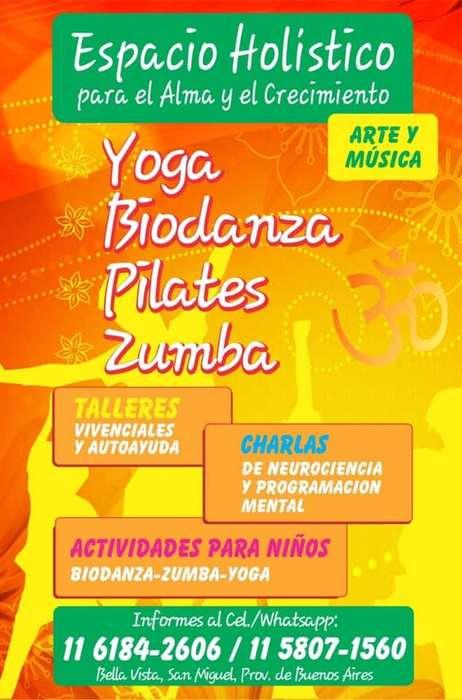 Busqueda Profesora de Pilates, Yoga para Adultos y niños, Zumba