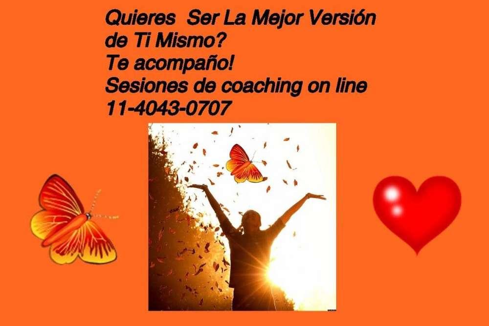 Sesiones de Coaching on line