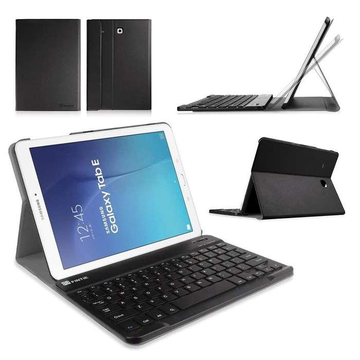 Case Con Teclado Fintie @ Galaxy Tab E 9.6 T560 Keyboard, Tienda Centro Comercial
