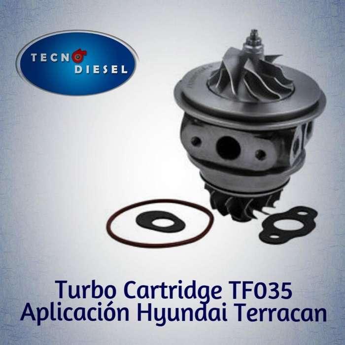 CARTRIDGE TF035 HYNDAI TERRACAN 2.5