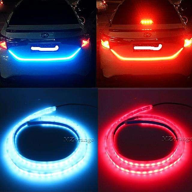 Cinta Tira Led Rgb Dinámica Maletero Cajuela Stop Direcional LED ECUADOR