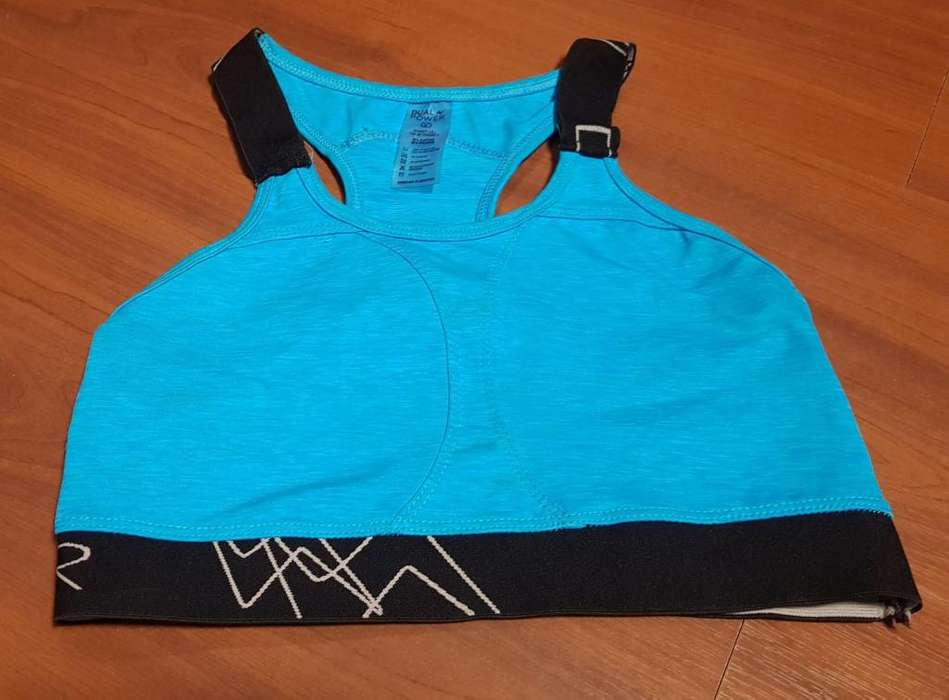 Top mujer deportivo lycra. Dual Power. Talle L