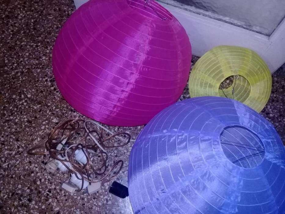 Guirnaldas de Tela de Colores