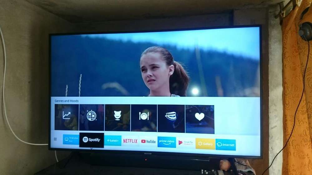 Samsung Nu7100 4k Smart Tv Y Tdt