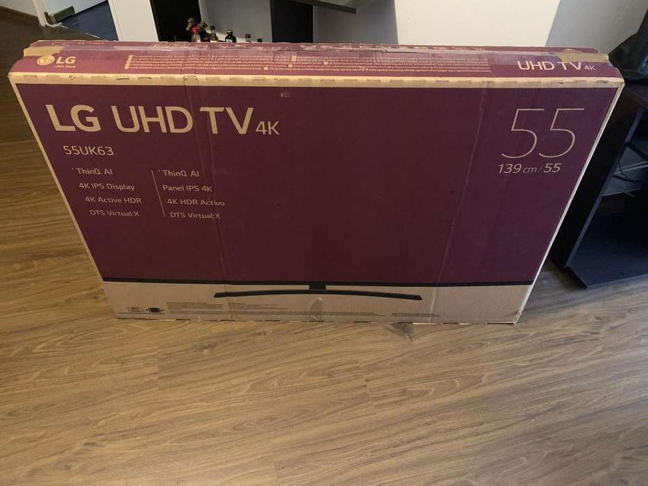 VENDO O CAMBIO LED SMART TV LG 55 4K NUEVA 2019 DE PAQUETE YOUTUBE NETFLIX ULTRA HD