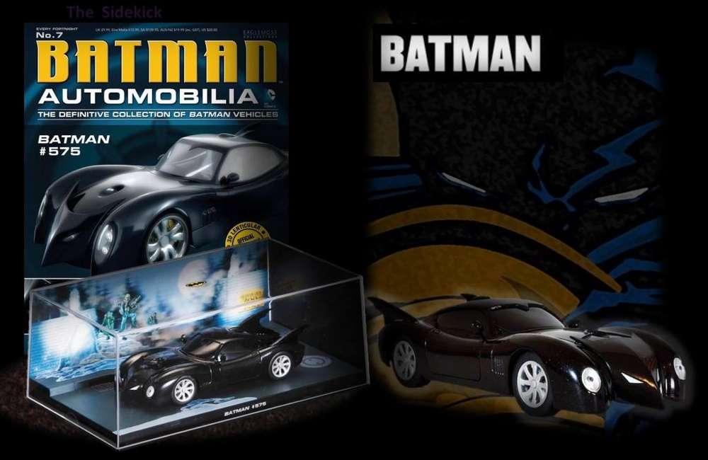 BATMAN AUTOMOBILIA / ISSUE 07: BATMAN 575 /2000/ Batmobile Batimóvil