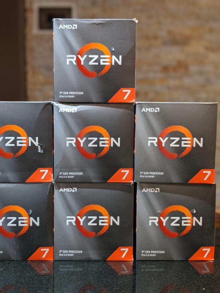 Procesador Amd Ryzen 3 Gen 7 3800x 8core