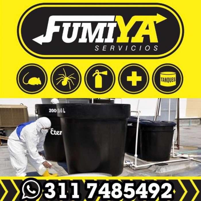 Servicio De Fumigación Control Integrado De Plagas y lavado de tanques villavicencio CEL 3117485492