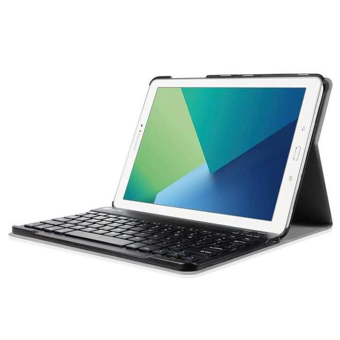 Fintie Book Cover Keyboard @ Galaxy Tab A 10.1 Spen Teclado