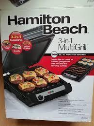 MultiGrill 3 in 1 Hamilton Beach