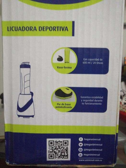 Licuadora Deportiva Nueva