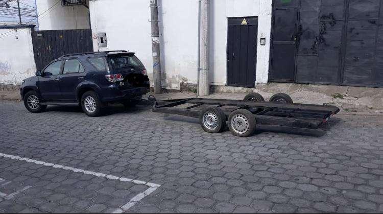 Remolque para vehiculos