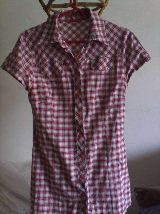camisa para dama cuadrille impecable 140