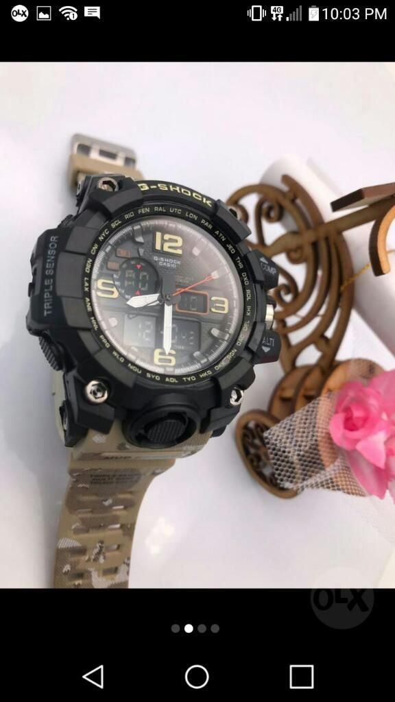 207be9232f08 Reloj Casio G Shock Camuflado - Bogotá