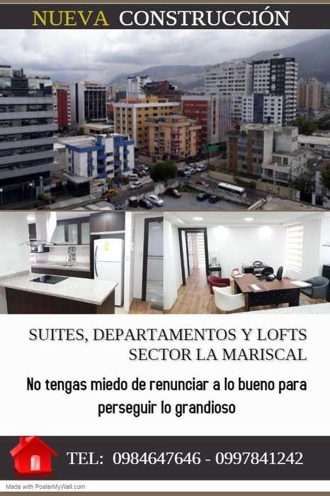 Nuevos Departamentos y Suites De Venta, Sector La Mariscal