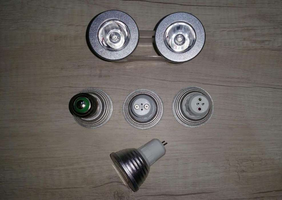Focos Led Multicolores 5W 110-220v E27-G