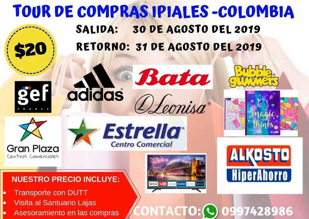 Tour de Compras Ipiales Colombia