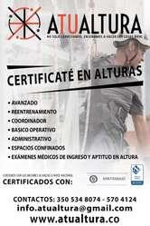 Curso Y Certificacion Alturas